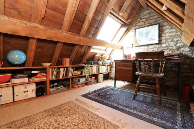 Loft study room