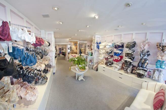 Shop flor area front