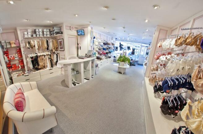 Shop floor area