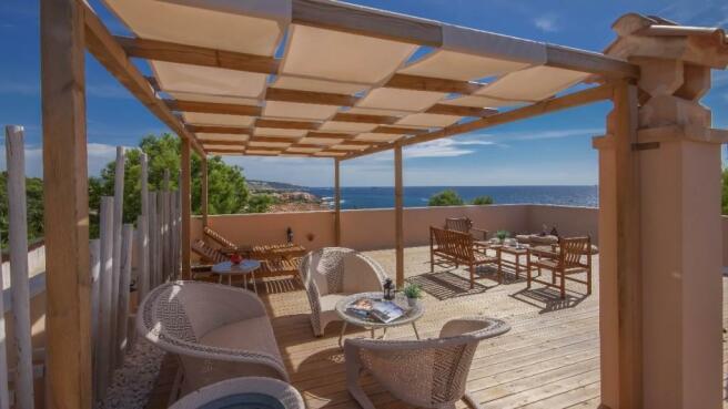 Roof terrace lounge1