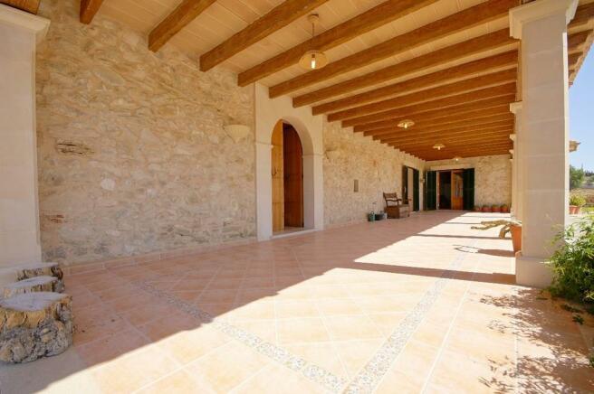 View porche
