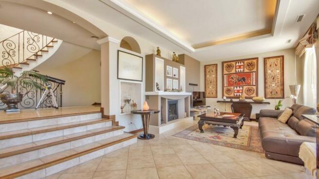 Living lounge and fi