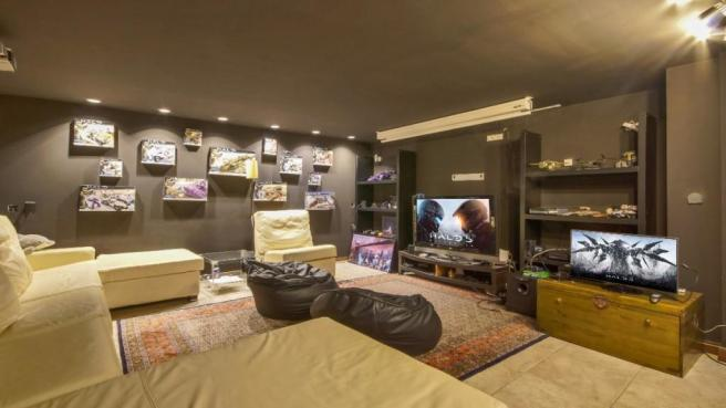 Games room and home