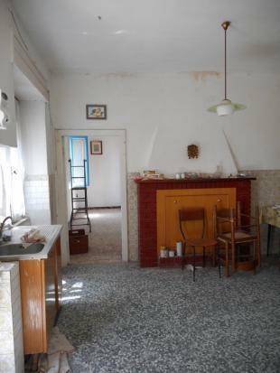 Fireplace kitchen