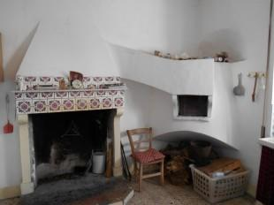 Fireplace and oven