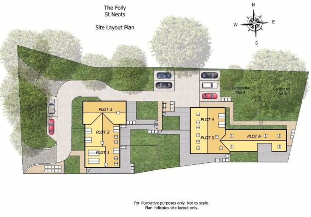 Site plan example