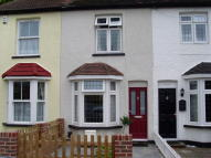 Terraced property in Hamilton Road...