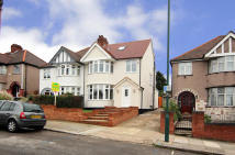 4 bedroom semi detached home for sale in Randall Avenue, London...
