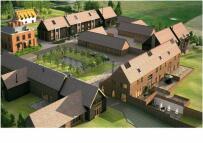 new development for sale in Hall Farm Estate...