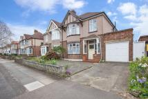 semi detached home for sale in Callander Road, Catford...