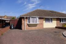 Semi-Detached Bungalow for sale in MANNINGS RISE, RUSHDEN