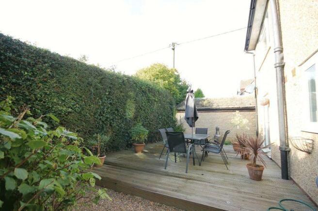 Garden to rear...