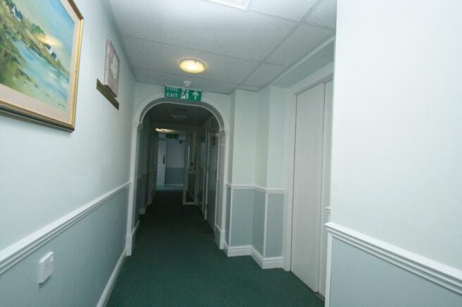 hallway outside flat