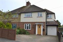 4 bed semi detached property in The Crescent, Epsom...