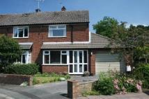 2 bedroom semi detached house in Bamford Close...