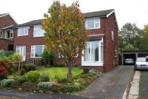 semi detached home for sale in Greenbank Drive...