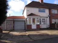 semi detached house to rent in Bassett Road...