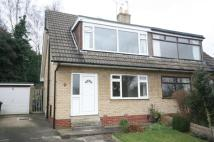 semi detached property to rent in Knollwood Park, Horsforth