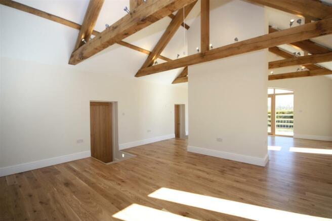 The old hay barn - Living pt4.JPG
