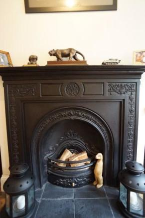 Period Fireplace (Lounge)