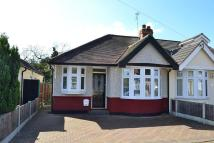 2 bed Semi-Detached Bungalow in Howard Road, Upminster...