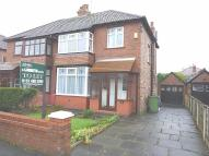 3 bed semi detached home in Lyme Road, Hazel Grove...