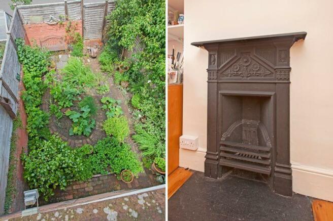 garden/fireplace