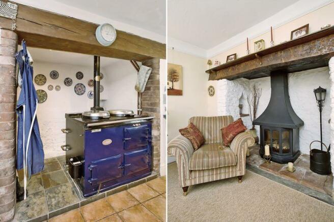 Aga/wood burner