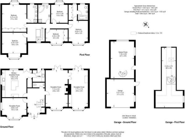 Floorplan Aum Manor.