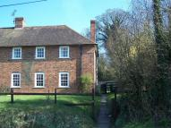 semi detached house to rent in Maytham Cottage...