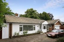 Detached Bungalow for sale in SOUTH CHEAM