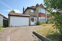 3 bedroom semi detached property in CHEAM