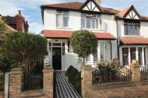 semi detached house in Chalkwell Park Drive...