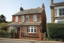 3 bedroom semi detached home for sale in Cappell Lane...