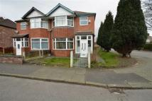 semi detached property for sale in Rutland Avenue, Firswood...