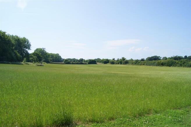 Views across open fields