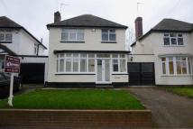 3 bed Detached home in Billesley Lane, Moseley...