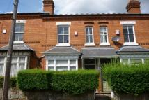 2 bedroom Terraced property to rent in Leighton Road, Moseley...