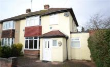 semi detached property in Blackthorn Crescent...