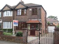 3 bedroom semi detached home in Barton Road, Stretford...