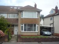 semi detached property to rent in Woodside Road, Downend...
