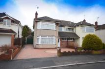 Woodside Road semi detached house for sale