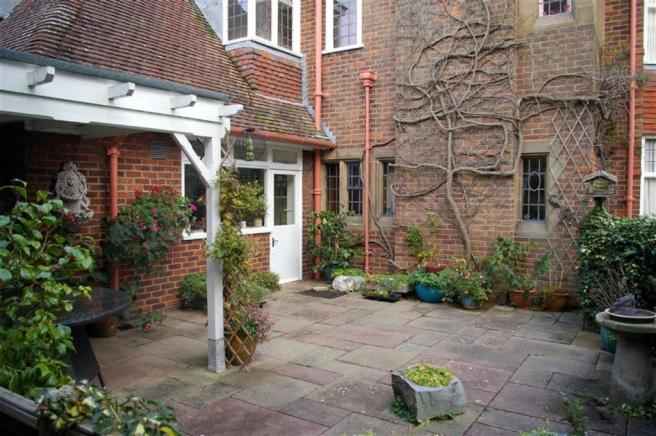 PAVED COURTYARD