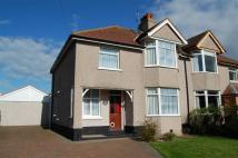 3 bedroom semi detached house in Warren Drive, Deganwy...