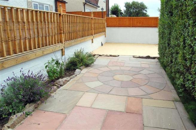 FRONT PAVING