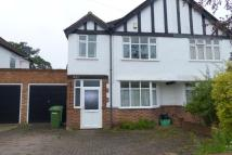 4 bed semi detached house in Crescent Drive...