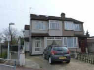 semi detached house in Western Avenue, Dagenham...