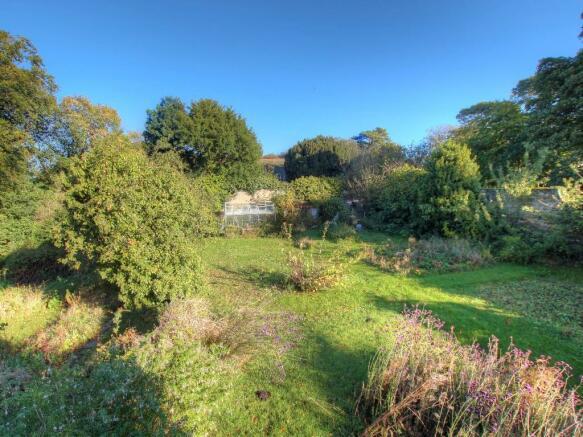 View onto garden