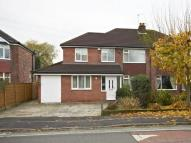 4 bedroom semi detached house in Grove Lane, Timperley...