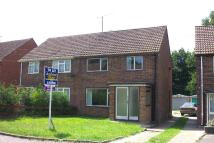 Grange Close semi detached house to rent